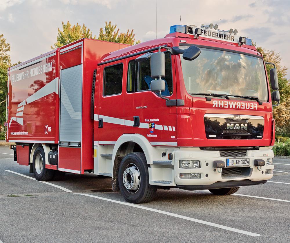 Feuerwehr Heddesheim | Gerätewagen-Logistik